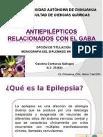 Antiepilépticos Relacionados Con El GABA
