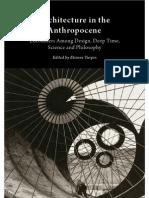 Stengers - Architecture in the Anthropocene