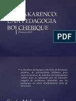 Modelo educativo Makarenko