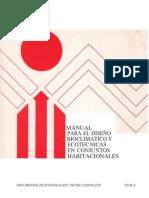 Manual de Diseño Bioclimatico Infonavit