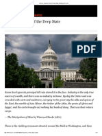 Anatomy of the Deep State