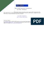 CHM to PDF Converter PRO Manual