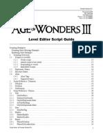 Age of Wonders 3 Scripting Guide