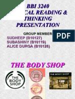 Bbi 3240 Critical Reading & Thinking Presentation
