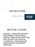 API 650 Scope