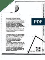 Economia Industrial - Luis Cabral.