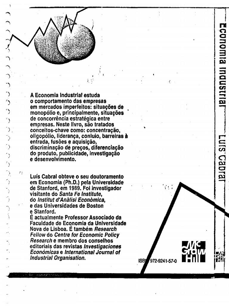 Economia industrial luis cabral fandeluxe Image collections