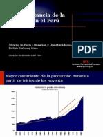 Presentacion Mining in Peru Embajada Britanica 06122004