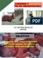 Manejo de Liquidos y Electrolitos en Neonatologia