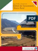 la sostenibilidad del saneamiento ambiental basico rural