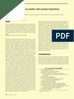 Criterios de Calidad de Los Estudios Sobre Pruebas Diagnósticas