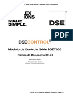 DSE7xxx Series Operators Manual Portuguese