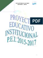 PEI 2014-2017, Institución Educativa San Miguel (Cibermuseo).doc