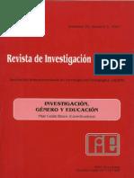 LA FORMACION DEL PROFESORADO EN GENERO .pdf