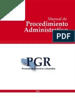 Manual de Procedimiento Admon