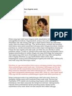 Nutrisi Memperbaiki Daya Ingatan Anak