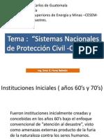 Sistemas Nac de Protecc CONRED