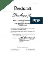 POH Beechcraft Duchess BE76 (1)