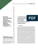 Los Tratados Internacionales en La Reforma Constitucional Argentina (1)