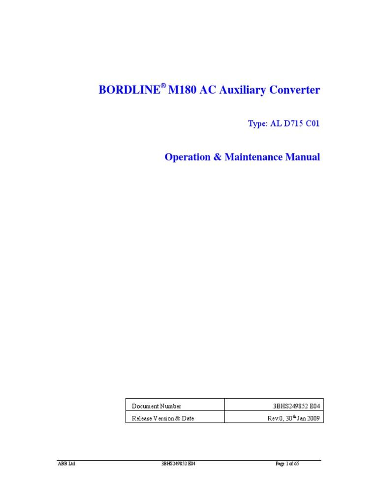 abb manual pdf power inverter power supply rh scribd com VFD Drives ABB Variable Speed Drives