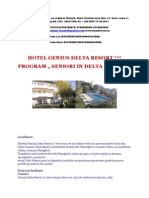 Hotel Genius Delta Resort - Program Seniori