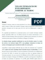 19142547 Les Nouvelles Tendences Du Developpement Du Tourisme Au Maroc