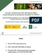 FSC y Red Natura 2000 en Galicia