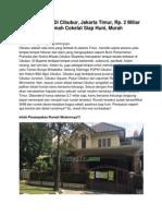 Rumah Dijual Di Cibubur, Jakarta Timur, Rp. 2 Miliar an, 13720
