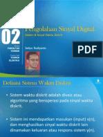 SB DSP 2 - Sistem & Sinyal Waktu Diskrit