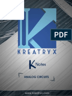 Analog Circuits K-Notes