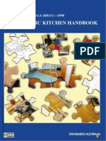 SAA HB111-1998.THE DOMESTIC KITCHEN HANDBOOK.