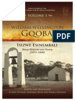Introduction to William Wellington Gqoba