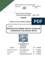 Detection Des Defaut Dans Injection Diesel