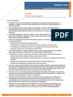 N 04300 GN0060 the Safety Case in Context an Overview of the Safety Case Regime Rev 6 June 2013 Copy
