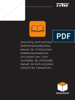 OBD2 TRW Notice d'Utilisation 5.0.0
