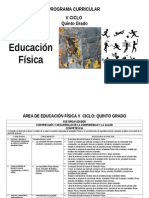 Educación Física 6º RUTAS 2015