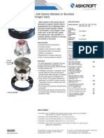 Datasheet Diaphragm Seal Threaded Type200 201 PDF