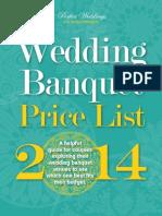 Wedding Banquet List 2014