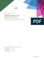 Application Tag IOS Digital Analytix US
