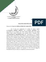 Jurisprudencia TSJ_SCC_Exp. N° 2002-000986_Objeto de La Prueba
