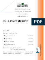 Fall Cone Method 2015