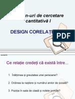 Curs 6 Design Corelational