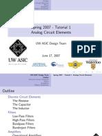 2007.06.15 - Tutorial 1 - Analog Circuit Elements