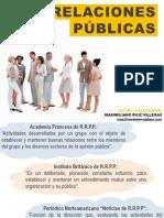 Relaciones Públicas - PR