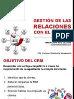 CRM - Gestión de las relaciones con el cliente