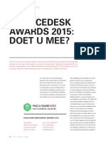 Servicedesk Awards 2015