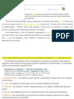 Revisão de Níveis de Linguagem