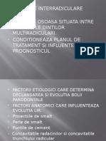 leziuni interradiculare