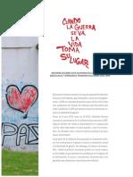 Cuando la guerra se va, la vida toma su lugar. Informe DDHH LGBT 2013 -2014- Resumen Ejecutivo