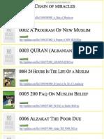 islamic all books list downloadable